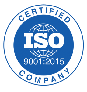 iso certified company - logo of certificate